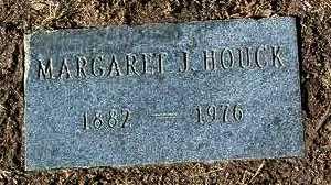JERVIS HOUCK, MARGARET J. - Yavapai County, Arizona   MARGARET J. JERVIS HOUCK - Arizona Gravestone Photos