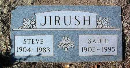 JIRUSH, SADIE R. - Yavapai County, Arizona | SADIE R. JIRUSH - Arizona Gravestone Photos