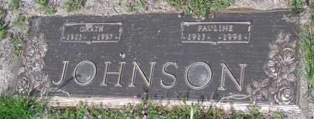 TUMILTY JOHNSON, PAULINE BESSIE - Yavapai County, Arizona | PAULINE BESSIE TUMILTY JOHNSON - Arizona Gravestone Photos