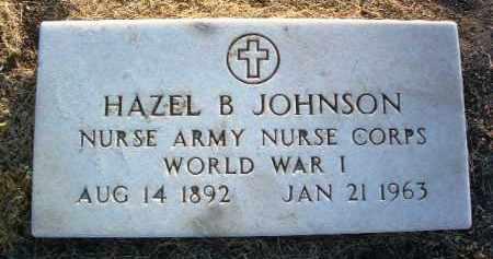 BELL JOHNSON, HAZEL B. - Yavapai County, Arizona | HAZEL B. BELL JOHNSON - Arizona Gravestone Photos