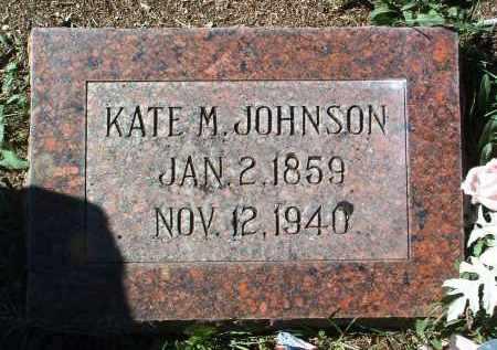 MITCHELL JOHNSON, KATE HELEN - Yavapai County, Arizona   KATE HELEN MITCHELL JOHNSON - Arizona Gravestone Photos