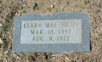 JOLIFF, CLARA MAE - Yavapai County, Arizona | CLARA MAE JOLIFF - Arizona Gravestone Photos