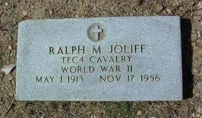 JOLIFF, RALPH M. - Yavapai County, Arizona   RALPH M. JOLIFF - Arizona Gravestone Photos