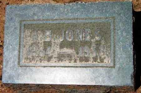 JONES, ALEXANDER BLYTH - Yavapai County, Arizona   ALEXANDER BLYTH JONES - Arizona Gravestone Photos