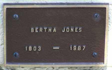 JONES, BERTHA - Yavapai County, Arizona | BERTHA JONES - Arizona Gravestone Photos
