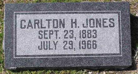 JONES, CARLTON H. - Yavapai County, Arizona   CARLTON H. JONES - Arizona Gravestone Photos
