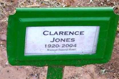 JONES, CLARENCE WILSON - Yavapai County, Arizona | CLARENCE WILSON JONES - Arizona Gravestone Photos