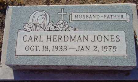 JONES, CARL HERDMAN - Yavapai County, Arizona | CARL HERDMAN JONES - Arizona Gravestone Photos