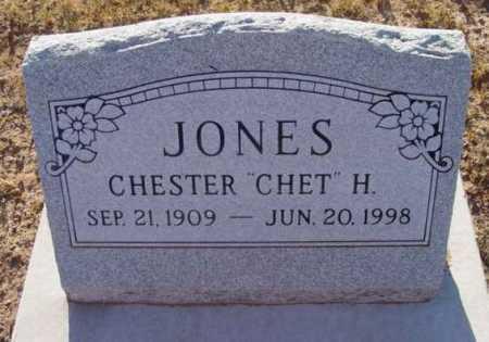 JONES, CHESTER HARDMAN - Yavapai County, Arizona | CHESTER HARDMAN JONES - Arizona Gravestone Photos