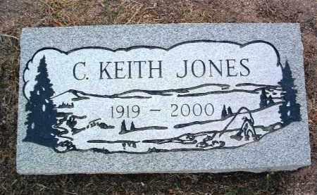 JONES, CLARENCE KEITH - Yavapai County, Arizona   CLARENCE KEITH JONES - Arizona Gravestone Photos