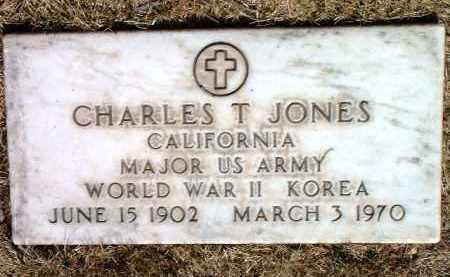 JONES, CHARLES T. - Yavapai County, Arizona | CHARLES T. JONES - Arizona Gravestone Photos