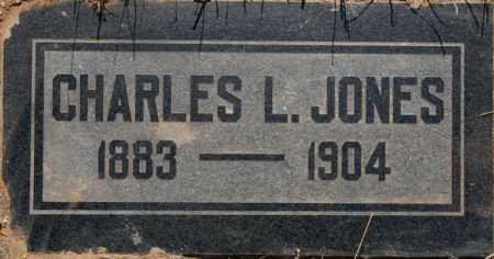 JONES, CHARLES L. - Yavapai County, Arizona | CHARLES L. JONES - Arizona Gravestone Photos