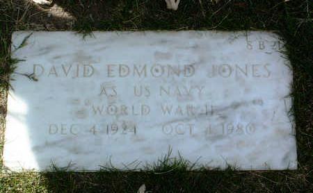 JONES, DAVID EDMOND - Yavapai County, Arizona | DAVID EDMOND JONES - Arizona Gravestone Photos