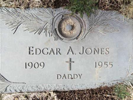 JONES, EDGAR ALLEN - Yavapai County, Arizona | EDGAR ALLEN JONES - Arizona Gravestone Photos