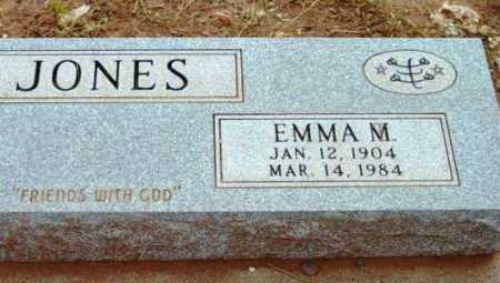 JONES, EMMA M. - Yavapai County, Arizona | EMMA M. JONES - Arizona Gravestone Photos