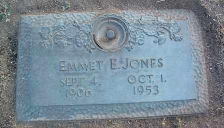 JONES, EMMET E. - Yavapai County, Arizona | EMMET E. JONES - Arizona Gravestone Photos