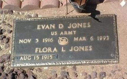 JONES, FLORA LOU - Yavapai County, Arizona | FLORA LOU JONES - Arizona Gravestone Photos