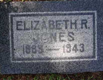 JONES, ELIZABETH R. - Yavapai County, Arizona | ELIZABETH R. JONES - Arizona Gravestone Photos