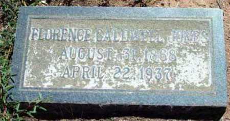 JONES, FLORENCE HAZEL - Yavapai County, Arizona   FLORENCE HAZEL JONES - Arizona Gravestone Photos