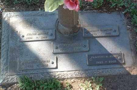 JACOBY JONES, FRANCES - Yavapai County, Arizona | FRANCES JACOBY JONES - Arizona Gravestone Photos