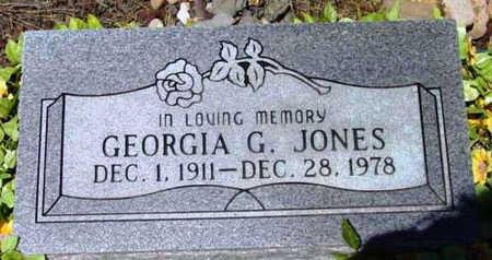 JONES, GEORGIA G. - Yavapai County, Arizona   GEORGIA G. JONES - Arizona Gravestone Photos