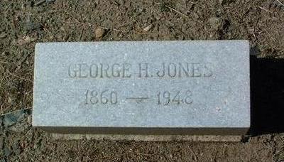 JONES, GEORGE H. - Yavapai County, Arizona | GEORGE H. JONES - Arizona Gravestone Photos