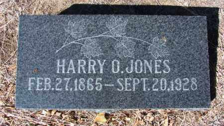 JONES, HARRY O. - Yavapai County, Arizona | HARRY O. JONES - Arizona Gravestone Photos