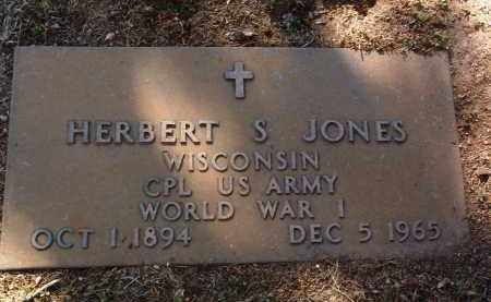 JONES, HERBERT S. - Yavapai County, Arizona | HERBERT S. JONES - Arizona Gravestone Photos