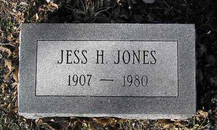 JONES, JESS H. - Yavapai County, Arizona | JESS H. JONES - Arizona Gravestone Photos