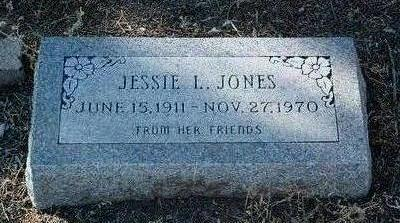 JONES, JESSIE L. - Yavapai County, Arizona | JESSIE L. JONES - Arizona Gravestone Photos