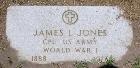JONES, JAMES L. - Yavapai County, Arizona | JAMES L. JONES - Arizona Gravestone Photos
