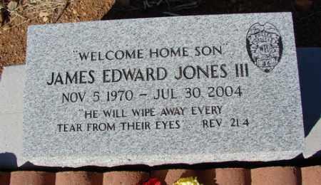 JONES, JAMES EDWARD III - Yavapai County, Arizona | JAMES EDWARD III JONES - Arizona Gravestone Photos