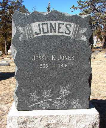 JONES, JESSIE K. - Yavapai County, Arizona | JESSIE K. JONES - Arizona Gravestone Photos