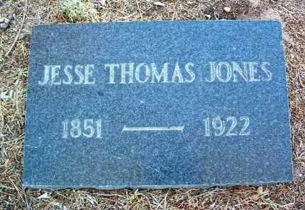 JONES, JESSE THOMAS - Yavapai County, Arizona   JESSE THOMAS JONES - Arizona Gravestone Photos