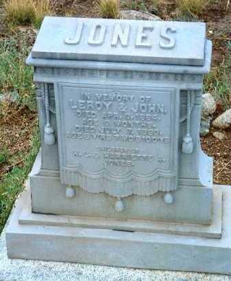 JONES, JOHN ALBERT - Yavapai County, Arizona | JOHN ALBERT JONES - Arizona Gravestone Photos