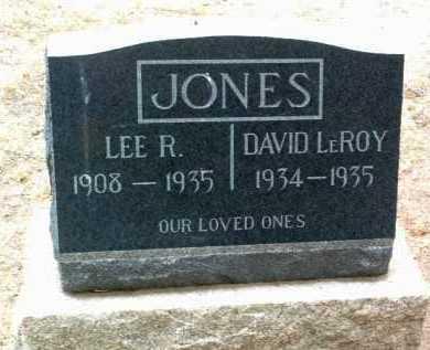 JONES, LEE ROY - Yavapai County, Arizona | LEE ROY JONES - Arizona Gravestone Photos