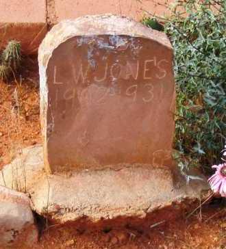 JONES, LEWIS WILLIAM - Yavapai County, Arizona | LEWIS WILLIAM JONES - Arizona Gravestone Photos