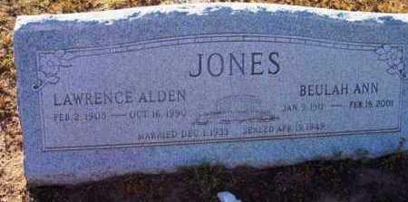 JONES, BEULAH ANN - Yavapai County, Arizona   BEULAH ANN JONES - Arizona Gravestone Photos