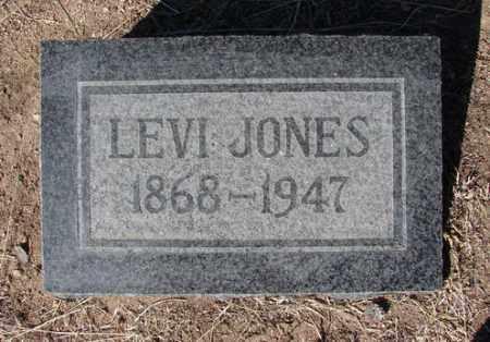 JONES, LEVI CASHUS - Yavapai County, Arizona   LEVI CASHUS JONES - Arizona Gravestone Photos