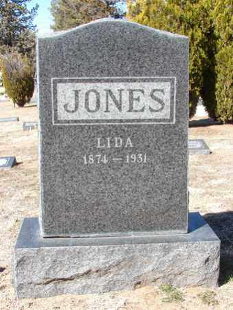 JONES, ELIZA ANN (LIDA) - Yavapai County, Arizona | ELIZA ANN (LIDA) JONES - Arizona Gravestone Photos