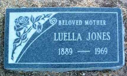 JONES, LUELLA - Yavapai County, Arizona | LUELLA JONES - Arizona Gravestone Photos