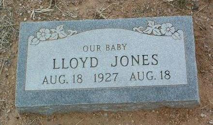 JONES, LLOYD - Yavapai County, Arizona | LLOYD JONES - Arizona Gravestone Photos