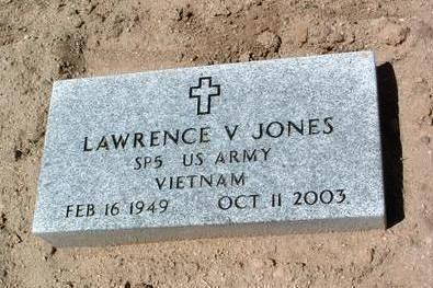 JONES, LAWRENCE V. - Yavapai County, Arizona | LAWRENCE V. JONES - Arizona Gravestone Photos