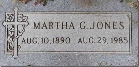 JONES, MARTHA REGINA G. - Yavapai County, Arizona | MARTHA REGINA G. JONES - Arizona Gravestone Photos