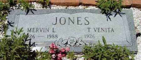 JONES, MERVIN LEE - Yavapai County, Arizona | MERVIN LEE JONES - Arizona Gravestone Photos