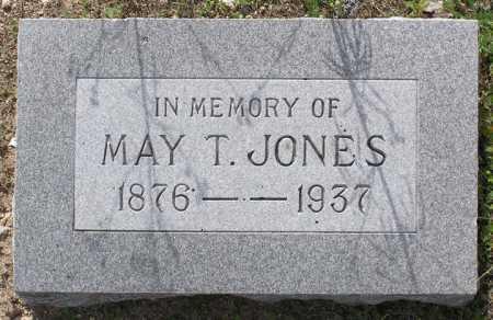 JONES, MAY T. - Yavapai County, Arizona | MAY T. JONES - Arizona Gravestone Photos