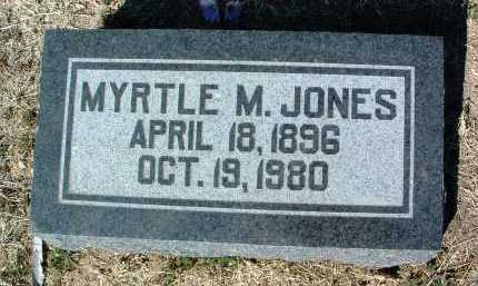 JONES, MYRTLE MAY - Yavapai County, Arizona | MYRTLE MAY JONES - Arizona Gravestone Photos