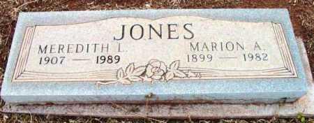 JONES, MARION A. - Yavapai County, Arizona | MARION A. JONES - Arizona Gravestone Photos