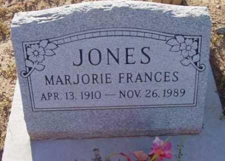 JONES, MARJORIE FRANCES - Yavapai County, Arizona | MARJORIE FRANCES JONES - Arizona Gravestone Photos