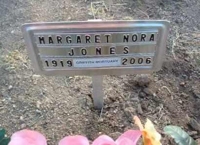 JONES, MARGARET NORA - Yavapai County, Arizona | MARGARET NORA JONES - Arizona Gravestone Photos